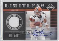 Colt McCoy /20