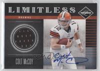 Colt McCoy /25