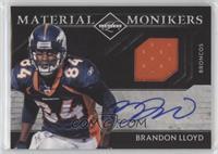 Brandon Lloyd /25