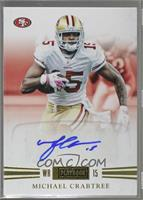 Michael Crabtree [Noted] #/25