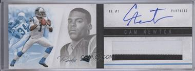 2011 Panini Playbook - [Base] - Rookies Booklet Platinum #107 - Cam Newton /25