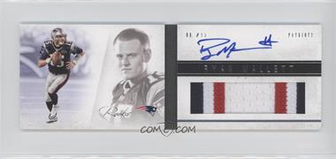 2011 Panini Playbook - [Base] #128 - Ryan Mallett /299