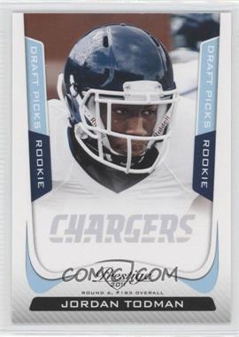 2011 Panini Prestige - [Base] - Draft Picks Light Blue #254 - Jordan Todman /999