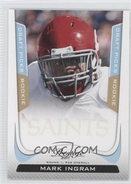 2011 Panini Prestige - [Base] - Draft Picks Light Blue #265 - Mark Ingram /999