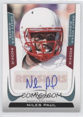 2011 Panini Prestige - [Base] - Draft Picks Rights Signatures [Autographed] #270 - Niles Paul /499