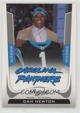 2011 Panini Prestige - [Base] - Rookie Draft Variations #214 - Cam Newton