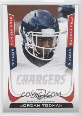 2011 Panini Prestige - [Base] - Xtra Points Red #254 - Jordan Todman /100