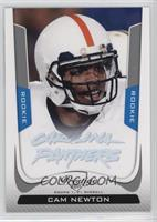Cam Newton (Faded Team Name) [Noted]