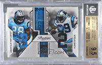 Steve Smith, Jonathan Stewart [BGS 9.5 GEM MINT] #/250