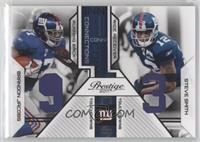 Brandon Jacobs, Steve Smith /250