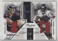 Andre Johnson, Matt Schaub /50