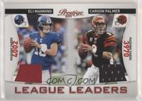 Carson Palmer, Eli Manning [GoodtoVG‑EX] #/200