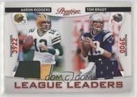 Aaron Rodgers, Tom Brady #/200