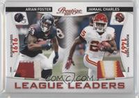 Jamaal Charles, Arian Foster /50