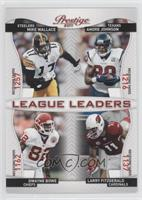 Dwayne Bowe, Larry Fitzgerald, Andre Johnson, Mike Wallace