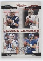 Drew Brees, Peyton Manning, Eli Manning, Tom Brady