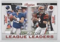 Eli Manning, Carson Palmer