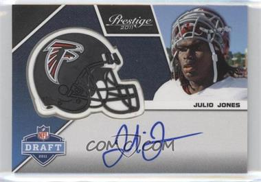 2011 Panini Prestige - Pro Helmets Signatures #14 - Julio Jones