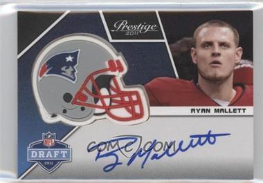 2011 Panini Prestige - Pro Helmets Signatures #24 - Ryan Mallett