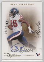Rookie - Brandon Harris #/49