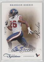 Rookie - Brandon Harris #/25