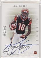 Rookie RPS - A.J. Green #/199