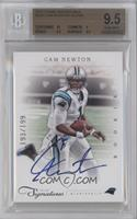 Rookie RPS - Cam Newton [BGS 9.5 GEM MINT] #/199