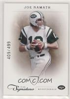 Joe Namath [EX to NM] #/499