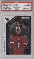 Patrick Peterson /99 [PSA 10 GEM MT]