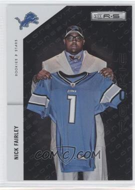 2011 Panini Rookies & Stars - [Base] - Longevity Parallel #221 - Nick Fairley /249