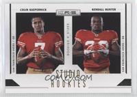 Colin Kaepernick, Kendall Hunter /500