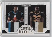 Mark Ingram, Cam Newton /50