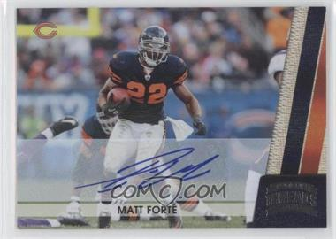 2011 Panini Threads - [Base] - Silver Signatures [Autographed] #28 - Matt Forte /5