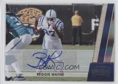 2011 Panini Threads - [Base] - Silver Signatures [Autographed] #67 - Reggie Wayne /5