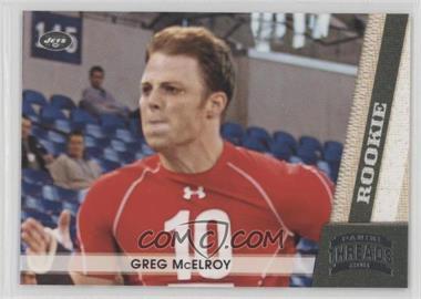 2011 Panini Threads - [Base] #189 - Greg McElroy