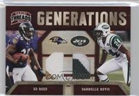 Darrelle Revis, Ed Reed /50