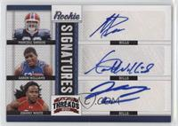 Aaron Williams, Johnny White, Marcell Dareus /10