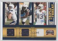 Antonio Gates, Philip Rivers, Vincent Jackson /200