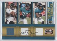 David Garrard, Mike Thomas, Maurice Jones-Drew #/200