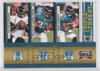 David Garrard, Maurice Jones-Drew, Mike Thomas