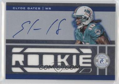 2011 Panini Totally Certified - [Base] - Totally Blue #209 - Clyde Gates /499