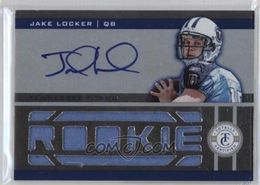 2011 Panini Totally Certified - [Base] - Totally Blue #215 - Jake Locker /299