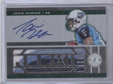2011 Panini Totally Certified - [Base] - Totally Green #216 - Jamie Harper /5