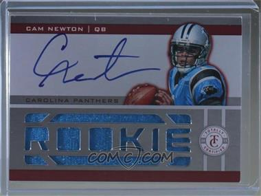 2011 Panini Totally Certified - [Base] - Totally Red #207 - Cam Newton /175