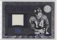 Y.A. Tittle #/249