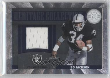 2011 Panini Totally Certified - Heritage Collection Materials #3 - Bo Jackson /249