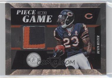 2011 Panini Totally Certified - Piece of the Game - Prime #10 - Devin Hester /49