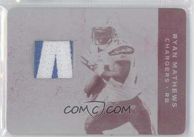 2011 Plates & Patches - [Base] - Printing Plate Magenta #70 - Ryan Mathews /1