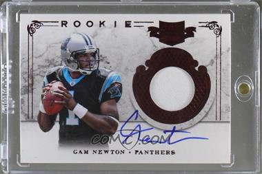 2011 Plates & Patches - [Base] #201 - Cam Newton /299