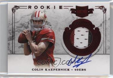 2011 Plates & Patches - [Base] #212 - Colin Kaepernick /499